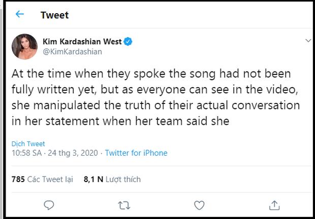 Không phải Kanye West, Kim Kardashian và hội chị em mới là người đáp trả Taylor Swift gay gắt, vẫn buộc tội cô là kẻ dối trá, bóp méo sự thật? - Ảnh 4.