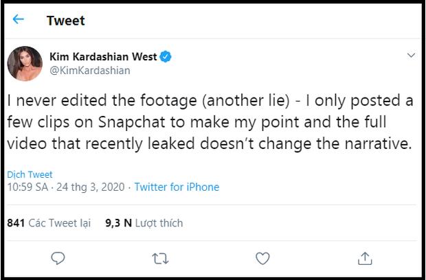 Không phải Kanye West, Kim Kardashian và hội chị em mới là người đáp trả Taylor Swift gay gắt, vẫn buộc tội cô là kẻ dối trá, bóp méo sự thật? - Ảnh 6.