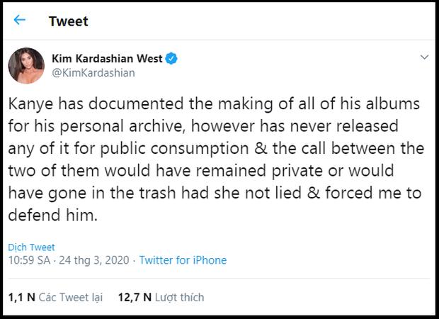 Không phải Kanye West, Kim Kardashian và hội chị em mới là người đáp trả Taylor Swift gay gắt, vẫn buộc tội cô là kẻ dối trá, bóp méo sự thật? - Ảnh 8.