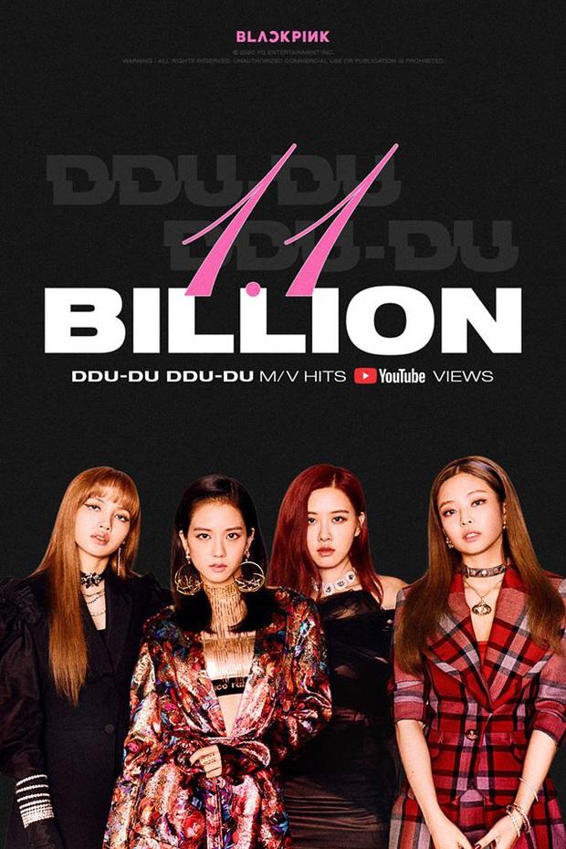 Chớp mắt DDU-DU DDU-DU đã nhanh chóng lên con số 1,1 tỷ view còn BLACKPINK chờ mãi mãi vẫn chưa thấy ngày comeback - Ảnh 2.