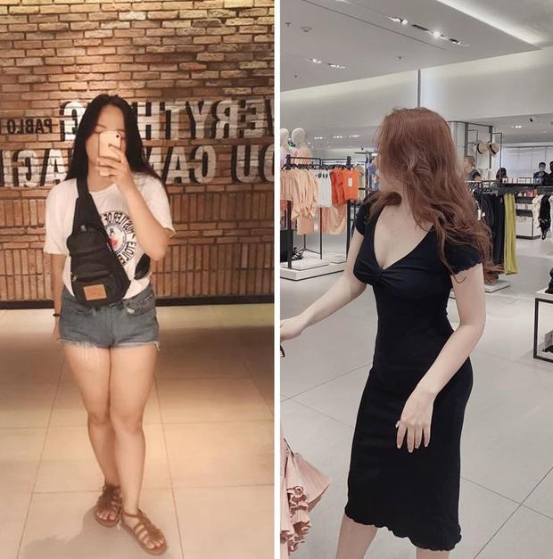 Giảm 10kg trong vòng 2 tháng, cô bạn chứng minh con gái không giảm cân thì không bao giờ biết mình xinh như thế nào - Ảnh 1.