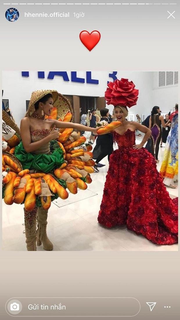 Nhân ngày bánh mì được vinh danh, HHen Niê hạnh phúc chia sẻ chuyện đằng sau Quốc phục gây bão ở Miss Universe 2018 - Ảnh 4.