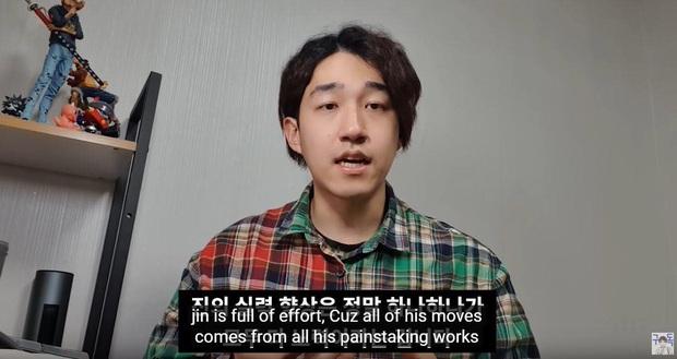 Từng bị coi là lỗ hổng vũ đạo, Jin (BTS) nay khiến huấn luyện viên idol phải kinh ngạc thốt lên: Đó không phải là tiến bộ, mà là một cuộc cách mạng - Ảnh 5.