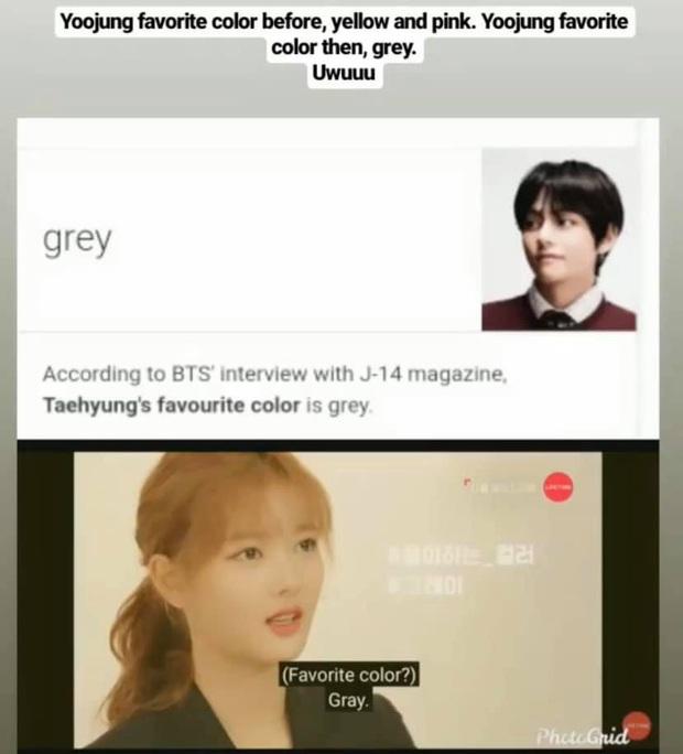 Soi 1001 bằng chứng V (BTS) và Kim Yoo Jung hẹn hò: Đồ đôi, sở thích trùng hợp đến lạ và những lần tương tác quá đáng ngờ - Ảnh 9.