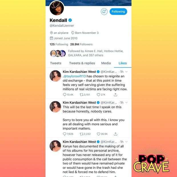 Không phải Kanye West, Kim Kardashian và hội chị em mới là người đáp trả Taylor Swift gay gắt, vẫn buộc tội cô là kẻ dối trá, bóp méo sự thật? - Ảnh 10.