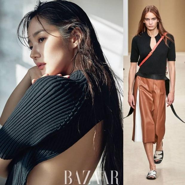Hết chê Park Min Young được rồi, diện bộ nào cũng sang và đẹp hơn người mẫu, thần thái lại càng xuất sắc - Ảnh 6.