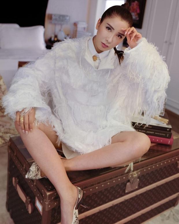 Bà hoàng Hermès đối đầu trực tiếp với Song Hye Kyo và Jisoo, chứng minh bức ảnh tỏa ra mùi tiền là có thật - Ảnh 1.