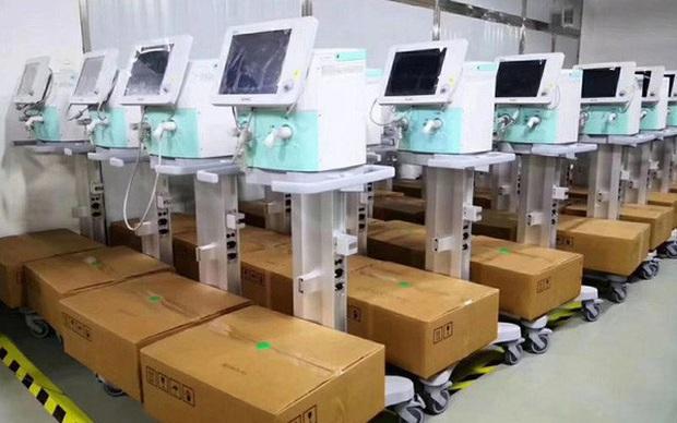 Thiết bị máy thở đang được cả thế giới săn lùng: Hàng Made in China lên ngôi, có nước mang cả máy bay quân sự đến tận Trung Quốc mua hàng - Ảnh 2.