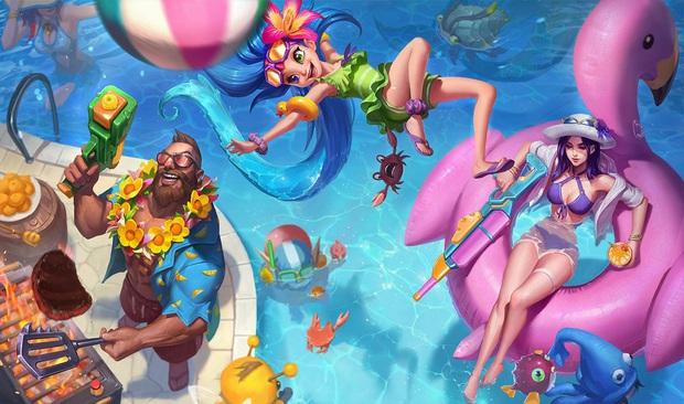 Ngỡ ngàng trước bộ ảnh cosplay Zoe Tiệc bể bơi siêu thực của nữ cosplayer Hàn Quốc Hanna - Ảnh 1.