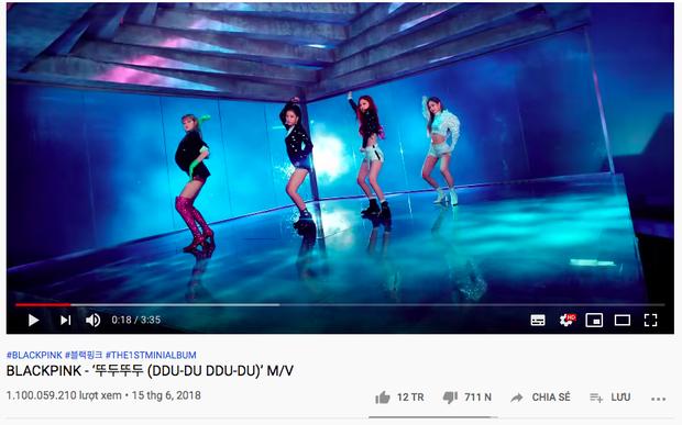Chớp mắt DDU-DU DDU-DU đã nhanh chóng lên con số 1,1 tỷ view còn BLACKPINK chờ mãi mãi vẫn chưa thấy ngày comeback - Ảnh 3.