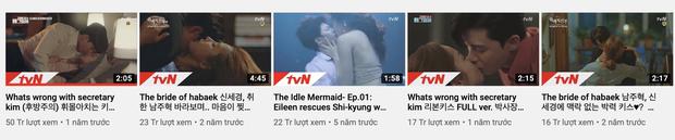 Cảnh giường chiếu dữ dội của Park Seo Joon và Park Min Young ở Thư Kí Kim được hùng hổ đào mộ, cán mốc 50 triệu view - Ảnh 3.