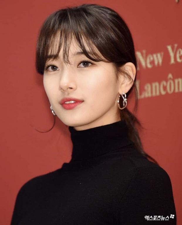 Quá trình lột xác từ dễ thương bình bình tới xinh đẹp mê đắm của Suzy: Công lớn thuộc về cách làm tóc, makeup ngày một đẳng cấp - Ảnh 5.