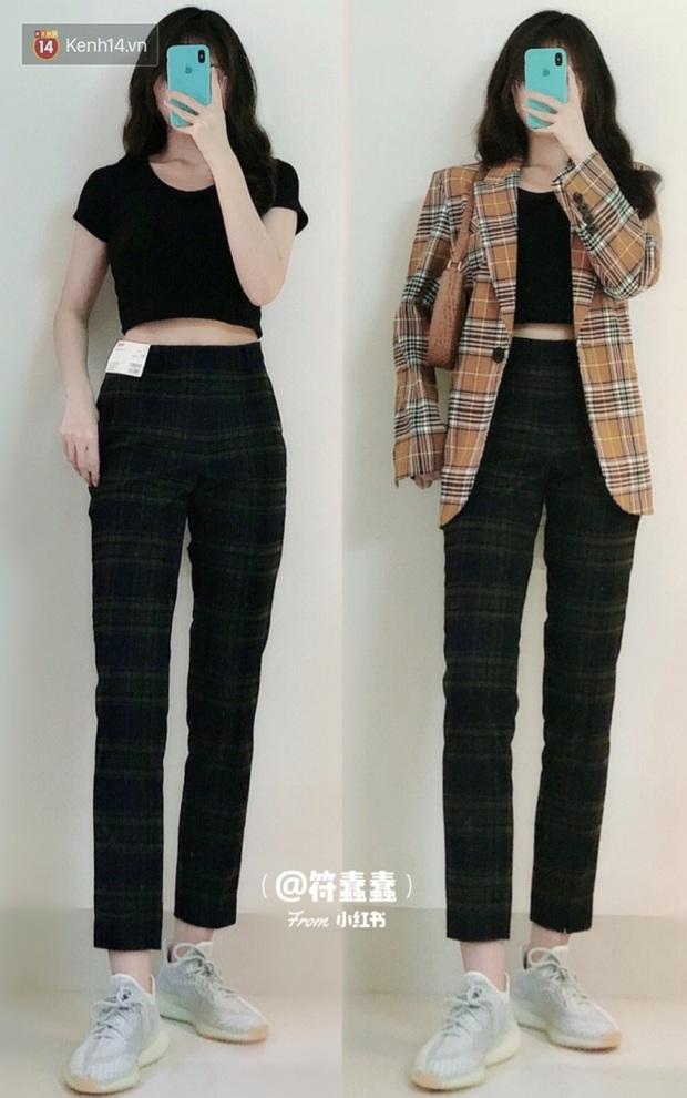 Dáng thẳng đuột khi diện skinny jeans, cô nàng đã được khai sáng khi tìm ra 8 chiếc quần âu tôn dáng mà thanh lịch hết sức - Ảnh 9.