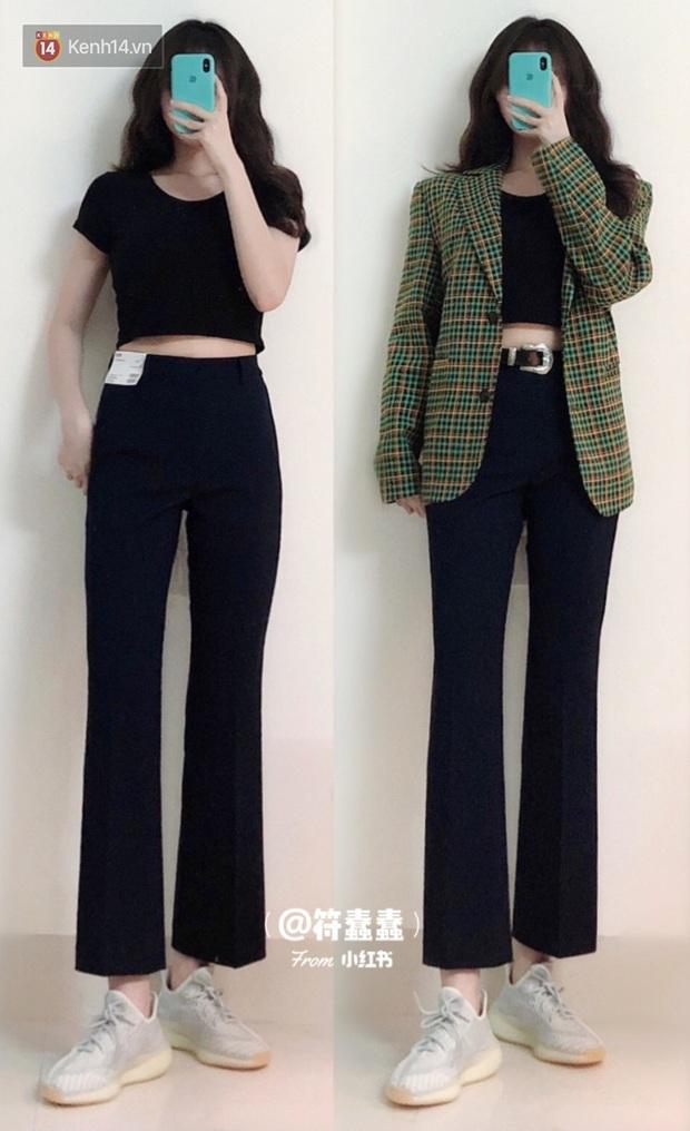 Dáng thẳng đuột khi diện skinny jeans, cô nàng đã được khai sáng khi tìm ra 8 chiếc quần âu tôn dáng mà thanh lịch hết sức - Ảnh 8.