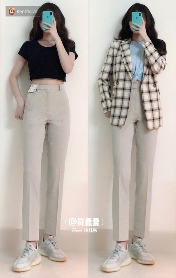 Dáng thẳng đuột khi diện skinny jeans, cô nàng đã được khai sáng khi tìm ra 8 chiếc quần âu tôn dáng mà thanh lịch hết sức - Ảnh 5.