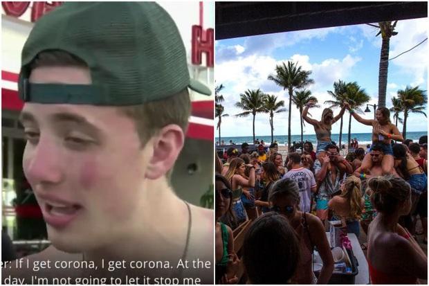 Nam thanh niên xin lỗi sau khi khiến người Mỹ phẫn nộ với câu nói: Nhiễm corona thì nhiễm corona, tôi sẽ không ngừng tiệc tùng - Ảnh 3.