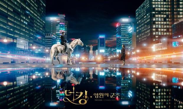 Poster Bệ Hạ Bất Tử chính thức lên kệ, con dân sắp đến lúc phải lé mắt vì quân vương Lee Min Ho rồi! - Ảnh 1.