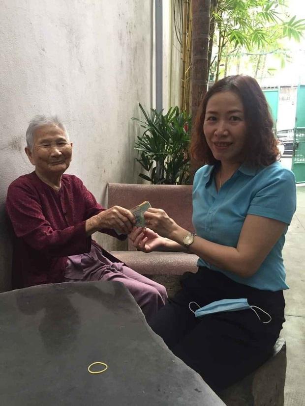 Mẹ Việt Nam anh hùng 91 tuổi ủng hộ 5 triệu đồng chống dịch Covid-19 - Ảnh 1.