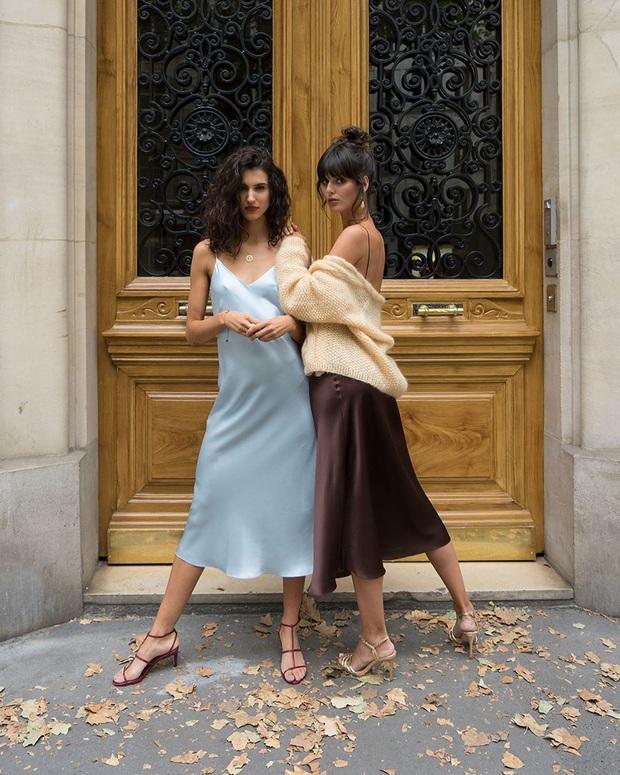 Phụ nữ Pháp cứ diện váy lụa đẹp mê thế này, chị em ngắm rồi sẽ muốn tậu ngay cả lố với muôn màu sắc - Ảnh 6.