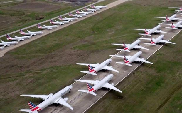 Hàng không - nạn nhân 'khổ' nhất vì Covid-19: Ế khách, máy bay nằm không còn phải tranh nhau chỗ đỗ - Ảnh 1.