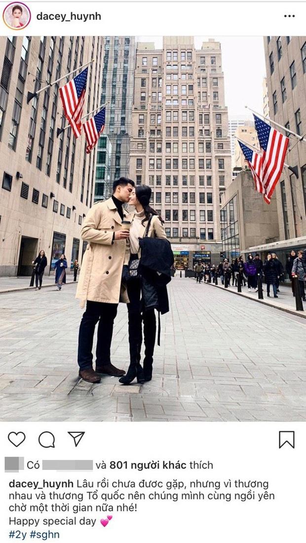 Á hậu Thùy Dung kỷ niệm 2 năm yêu bạn trai soái ca, mùa dịch không gặp nhau nhưng vẫn có quà chúc cực tình - Ảnh 2.
