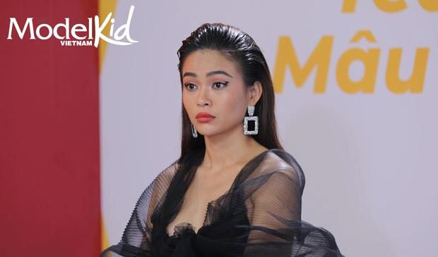 Model Kid: Quang Đại bất ngờ lên tiếng, Hương Ly đỏ hoe mắt, các thí sinh nhí ôm mặt lo lắng - Ảnh 5.
