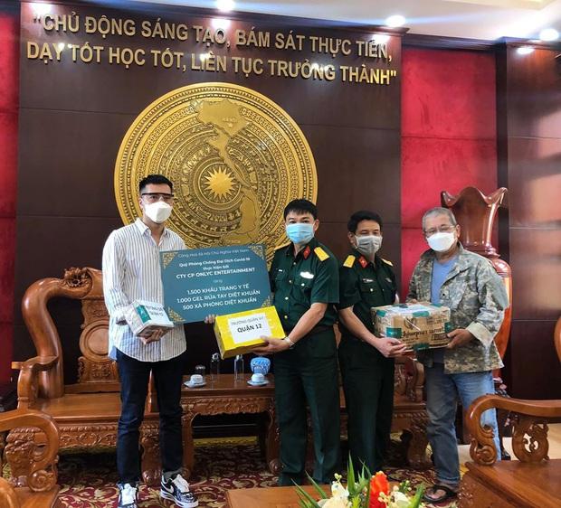 Lou Hoàng, Only C chung tay đóng góp hàng chục ngàn vật tư y tế hỗ trợ công tác phòng dịch Covid-19 - Ảnh 2.
