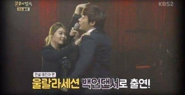 """Quá khứ làm vũ công phụ họa của loạt idol đình đám: Anh em BTS nhảy phụ cho đàn anh cùng nhà, Kang Daniel diễn cảnh tình tứ với mỹ nhân """"bốc lửa"""" - Ảnh 6."""