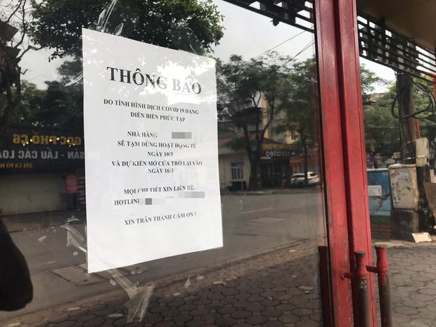 """Chủ cửa hàng thực hiện lệnh đóng cửa quán để chống dịch COVID-19: """"Sức khoẻ là vốn quý nhất, mong Hà Nội sớm bình yên trở lại!"""" - Ảnh 5."""