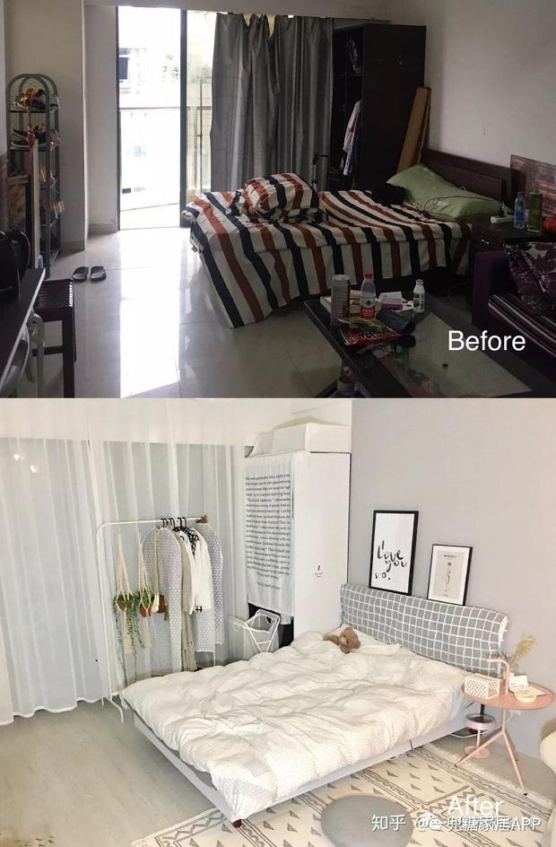 Cô gái dùng nửa tháng biến căn phòng trọ lộn xộn thành nơi xịn chẳng kém gì homestay: Thế này mới đáng sống chứ! - Ảnh 1.