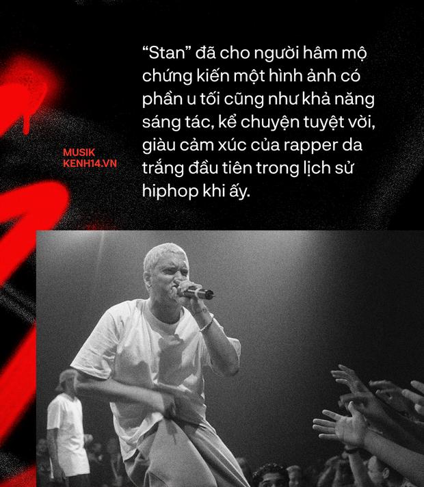 20 năm ra đời Stan - Từ ca khúc nhạc rap kinh điển của Eminem, cho đến sự tiên đoán về nền văn hóa Superfan - Ảnh 3.