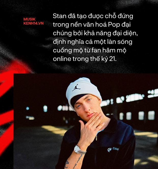 20 năm ra đời Stan - Từ ca khúc nhạc rap kinh điển của Eminem, cho đến sự tiên đoán về nền văn hóa Superfan - Ảnh 4.