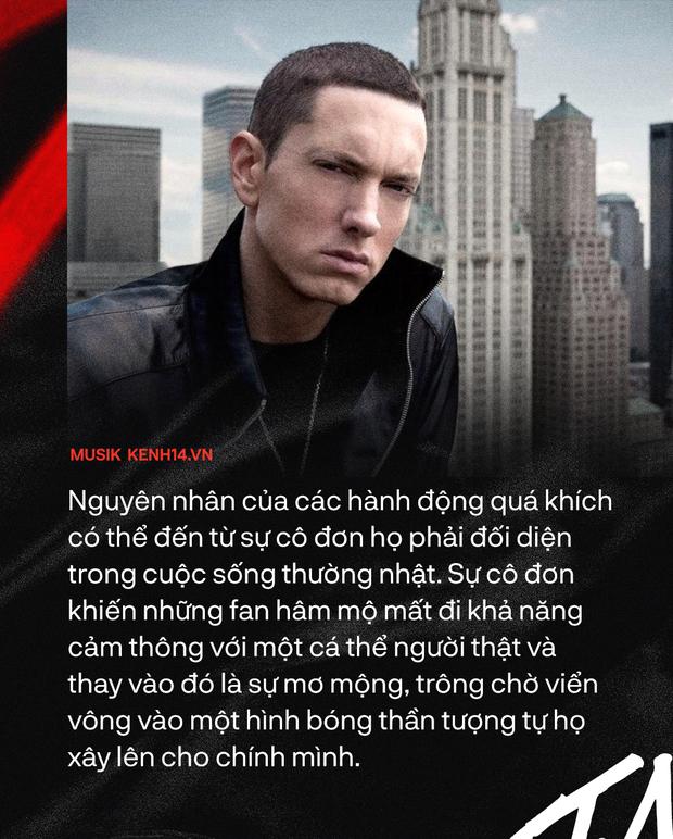 20 năm ra đời Stan - Từ ca khúc nhạc rap kinh điển của Eminem, cho đến sự tiên đoán về nền văn hóa Superfan - Ảnh 5.