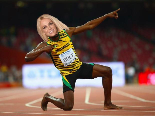 Nữ hoàng nhạc Pop Britney Spears khiến dân tình sốc nặng khi tự nhận phá kỷ lục của Usain Bolt tới 4 giây, còn đưa ra luôn cơ sở để chứng minh - Ảnh 4.