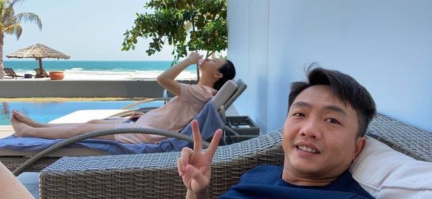 Vòng 2 lớn đến mức bạn bè thi nhau chúc mừng, còn nghi ngờ gì nữa chuyện Đàm Thu Trang mang thai sau 1 năm cưới Cường Đô La? - Ảnh 2.