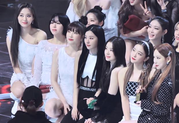Bức ảnh khoe sắc hiếm có của dàn mỹ nhân Kpop: Vườn hoa SM Irene, Taeyeon xúng xính cạnh bên nhau, Tzuyu chỉ bằng một biểu cảm lấn lướt cả khung hình - Ảnh 3.