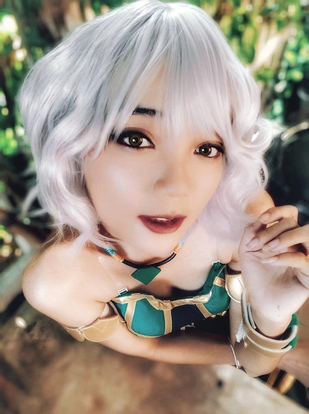 Ngất ngây với những bộ ảnh cosplay Qiyana Nữ hoàng nguyên tố chuẩn đến từng centimet! - Ảnh 6.