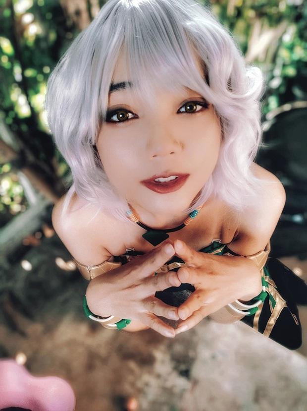 Ngất ngây với những bộ ảnh cosplay Qiyana Nữ hoàng nguyên tố chuẩn đến từng centimet! - Ảnh 8.