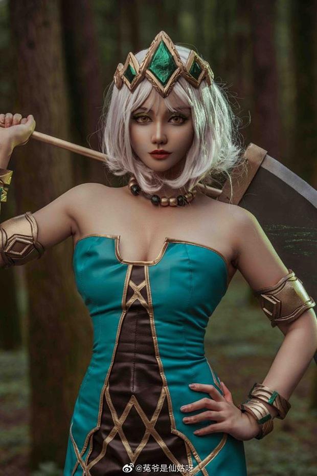 Ngất ngây với những bộ ảnh cosplay Qiyana Nữ hoàng nguyên tố chuẩn đến từng centimet! - Ảnh 5.