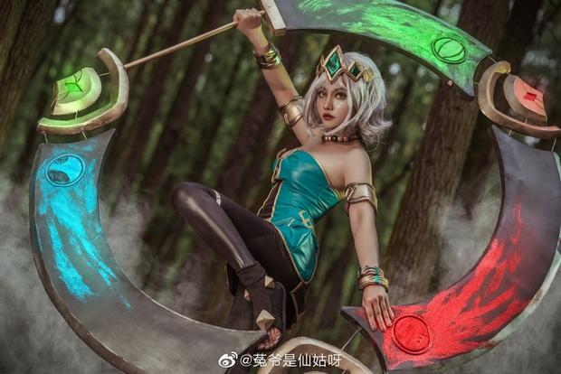 Ngất ngây với những bộ ảnh cosplay Qiyana Nữ hoàng nguyên tố chuẩn đến từng centimet! - Ảnh 3.