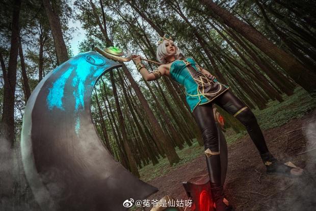 Ngất ngây với những bộ ảnh cosplay Qiyana Nữ hoàng nguyên tố chuẩn đến từng centimet! - Ảnh 4.
