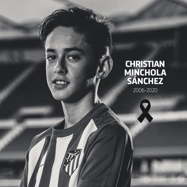 Tài năng triển vọng của bóng đá thế giới qua đời ở tuổi 14 - Ảnh 1.
