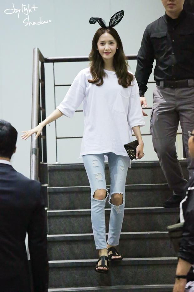 Dàn mỹ nhân Kpop khi diện quần jeans áo trắng: Thước đo nhan sắc chuẩn là đây, một mỹ nhân nhờ vậy mà bỗng nổi sau 1 đêm - Ảnh 9.