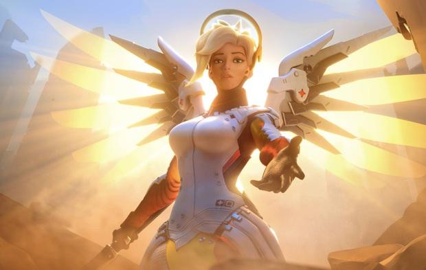 Fan cuồng chế tạo bộ cánh của Mercy siêu chất, có thể thoải mái tung cánh không khác gì bản gốc - Ảnh 1.