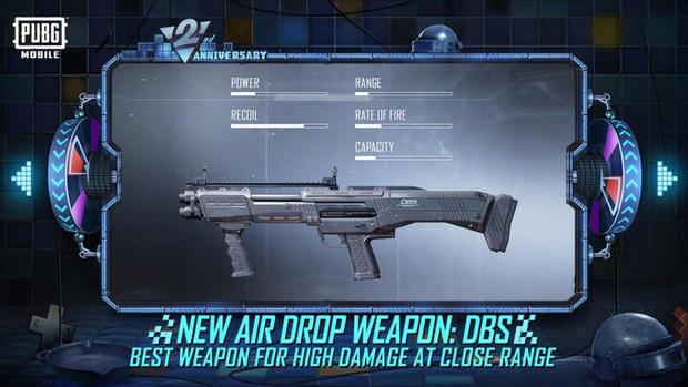 PUBG Mobile: Khám phá DBS - khẩu súng ngắn thần thánh chỉ xuất hiện trong thùng thính - Ảnh 1.