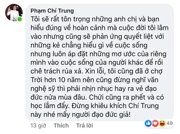 Liên tục bị chỉ trích vì đăng ảnh tình trẻ hậu xác nhận ly hôn vợ cũ, NSƯT Chí Trung gay gắt đáp trả - Ảnh 3.