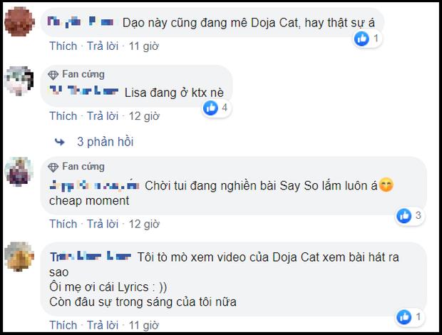 Ai tặng quà Lisa (BLACKPINK) tâm lý thế: Biết Lisa thích mê Doja Cat, tặng ngay album mới của chủ nhân bản hit Say So, fan đòi hợp tác gấp! - Ảnh 6.