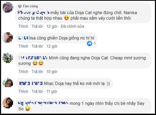 Ai tặng quà Lisa (BLACKPINK) tâm lý thế: Biết Lisa thích mê Doja Cat, tặng ngay album mới của chủ nhân bản hit Say So, fan đòi hợp tác gấp! - Ảnh 7.