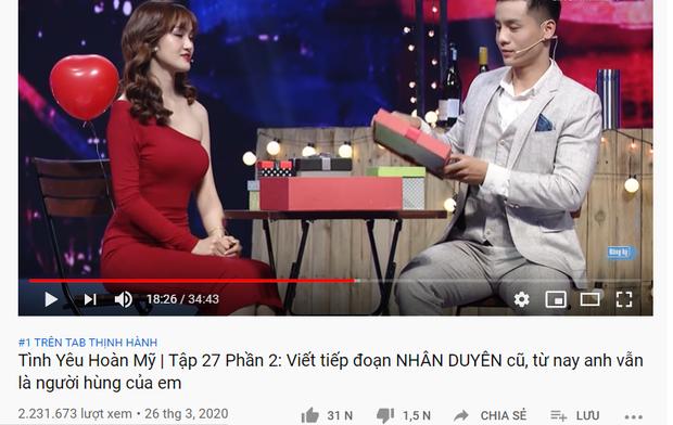 Cao Xuân Tài và cô chủ tiệm áo cưới giúp Tình yêu hoàn mỹ lần đầu biết mùi top 1 Trending YouTube - Ảnh 4.