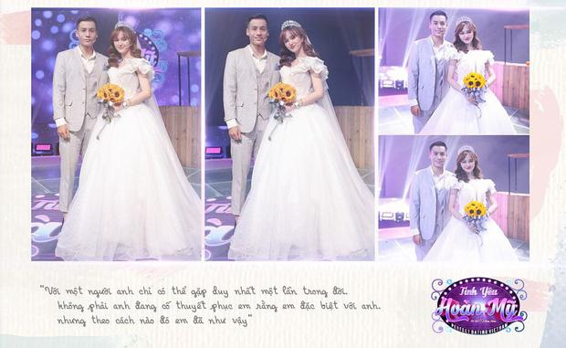 Hé lộ bộ ảnh cưới khiến Cao Xuân Tài mất đi nụ hôn đầu, cô dâu cài làm hình nền nhưng không quên đính chính! - Ảnh 1.